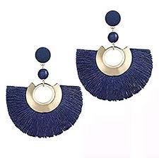 Buy Shining Diva <b>Fashion</b> Stylish <b>Bohemian</b> Tassel <b>Drop</b> Earrings ...