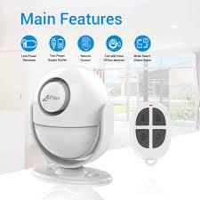 CPVAN <b>Motion Sensor</b> Alarm, Remote Control <b>Wireless Infrared</b>