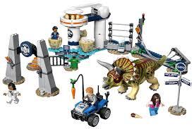 Купить <b>LEGO Jurassic World Нападение</b> трицератопса в Москве ...