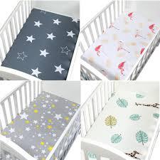 130cm*70cm 100% <b>Cotton crib</b> fitted sheets <b>soft baby</b> bed mattress ...
