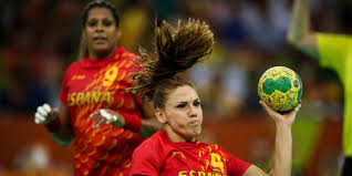 Resultado de imagen de las guerreras cancha partido balonmano españa