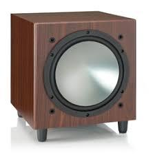 «<b>Активный сабвуфер Monitor</b> Audio Bronze W10 Walnut ...