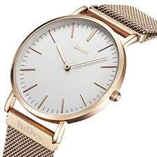 Amazon.com: Watch,Mens Women <b>Watch Luxury Fashion Rose</b> ...