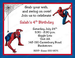 spiderman birthday invitations birthday party invitations spiderman birthday invitations middot spiderman printable birthday invitations