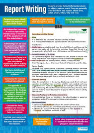 Report Writing Poster Daydream Education