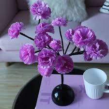 <b>Led</b> camellia flower lamp <b>branch</b> lamp set <b>lamp room</b> bedroom shop ...