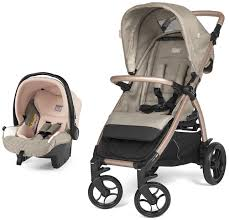 <b>Коляска</b> 2 в 1 <b>PEG PEREGO BOOKLET</b> 50 Travel System Polo, Mon ...