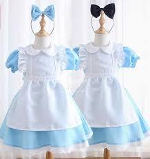 <b>Halloween</b> Toddler Baby <b>Girls Anime</b> Alice In Wonderland Blue ...