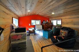 harmony haven tiny house loft office1 boulder tiny house front