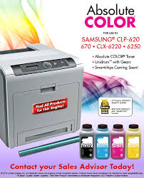 Samsung CLP-620, 670, CLX-6220, 6250 - Absolute COLOR Toner ...