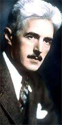 Dashiell Hammett. When I was a pre-adolescent spending summers in northern Canada, I read a lot of old detective fiction because it was there. - APhammett3