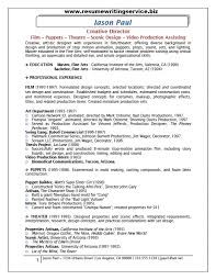 creative director resume sample   resume writing serviceafter