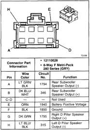 2001 tahoe wiring information factory radio system amp bypass graphic