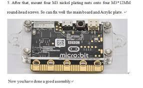 bit Development Board Protection Sh <b>Transparent Acrylic Shell</b> Kit ...