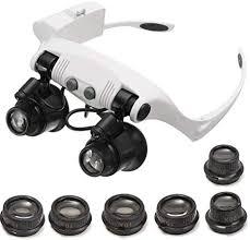 <b>Brand New</b>, <b>high Quality</b>, Head Mounted Magnifying Glass, LED ...