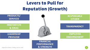webinar replay everything you wanted to know about stakeholder s 7 levers of reputation are seven areas we believe companies must pull in order to have a positive reputation in order to effectively measure how