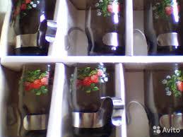 <b>Стаканы</b> новые с <b>подстаканниками</b> - Для дома и дачи, Посуда и ...