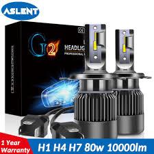 <b>Aslent</b> Super <b>mini</b> H4 Hi lo H1 <b>H7 LED</b> bulbs 9005 HB3 9006 HB4 ...