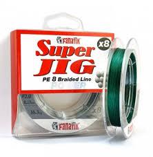 Восьмижильная <b>леска</b> плетёная <b>FANATIK Super</b> Jig PE X8 (0.20 ...