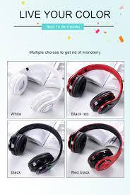 B39 Portable Folding Wireless <b>Bluetooth Headphones LED Colorful</b> ...
