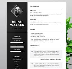 6 cv templates to help you standout the jobfather why not add a nice photo of yourself on your cv here