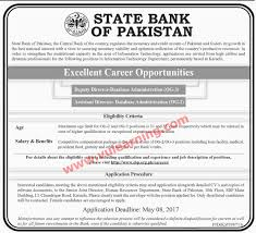 state bank of sbp jobs for assistant director state bank of sbp jobs 2017 for assistant director deputy director latest