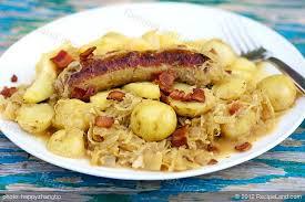 Octoberfest Sausage Dinner Recipe