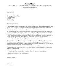 teacher cover letter sample template example preschool teacher cover letter