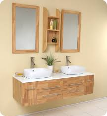 bathroom vanity oak ceramic fresca bellezza natural wood bathroom vanity w solid oak wood and