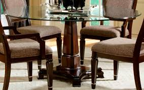 Teak Dining Room Sets Teak Top Dining Room Furniture Round Glass Dining Table With Brown