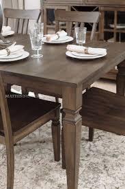 <b>Seven</b>-<b>Piece Solid</b> Wood Dining Set in Dark Walnut | Solid wood ...