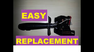 How to Easily Replace a <b>Turn Signal Switch</b> - Clio 2 and other ...