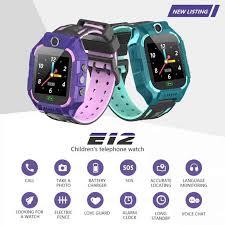 2019 <b>E12 Smart Watch</b> for Kids LBS Tracker <b>SmartWatch</b> SOS Call ...