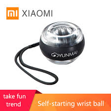 Buy XIAOMI <b>YUNMAI Wrist Ball</b> Super <b>Gyro powerball wrist ball</b> ...