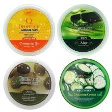 <b>Крем для лица</b> и тела Deoproce <b>Natural</b> Skin Nourishing Cream 30 ...