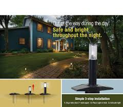 perfect for the lawn landscaping decks and docks the solar iq low bright outdoor lighting