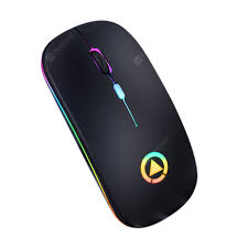 <b>Mouse Smart Wireless</b> Charging Bluetooth Mouse Colorful Glowing ...