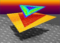 2D crystals conforming to 3D curves create strain for engineering ...