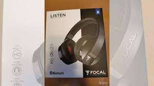 Беспроводные <b>наушники Focal Listen Wireless</b> Black купить в ...