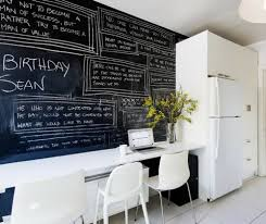 classic practical chalkboard at home working office desk flowers beautiful home office chalkboard