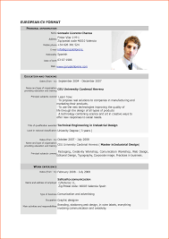 8 cv formats samples pdf event planning template comeuropean cv format pdf