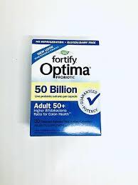 Nature's Way <b>Fortify Optima Probiotic Adult</b> 50+,50 Billion 30 ...