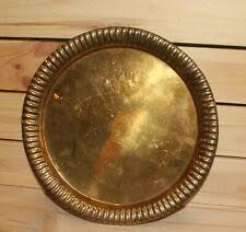 Тарелка коллекционная латунные изделия из металла ...