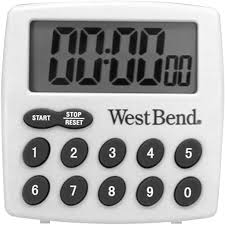 West Bend 40005X Easy to Read <b>Digital Magnetic Kitchen Timer</b> ...