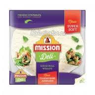 <b>Лепешки пшеничные Mission</b> Deli оригинальные - калорийность ...
