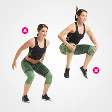 Image result for woman seal jumps workout