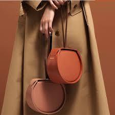 Pumping shoulder strap Handbag Simple Design Side Hasp Half ...