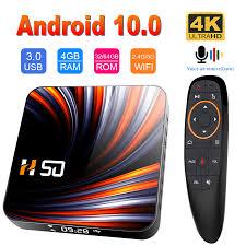 HONGTOP 2020 Desain Baru <b>H50 TV Box Android</b> 10 4GB 32GB ...