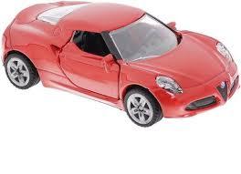 <b>SIKU Машина Alfa</b> Romeo 4c 1451