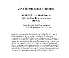 brendan eich java s bytecode design influenced my work on js